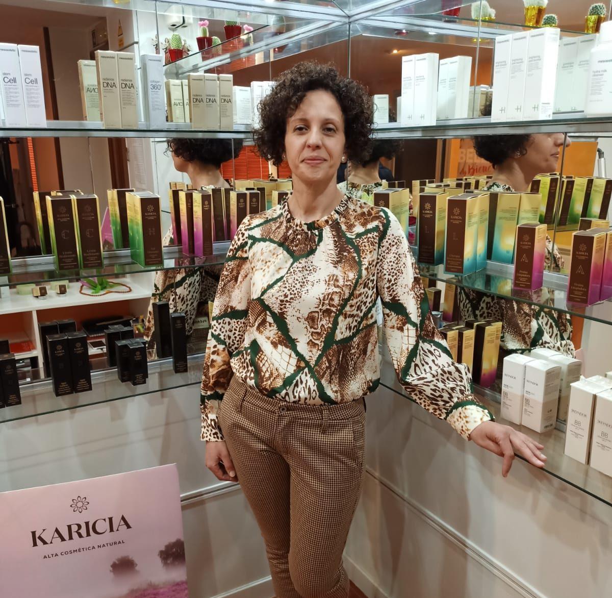 Cristina Facal, propietaria del Centro de Belleza Relax